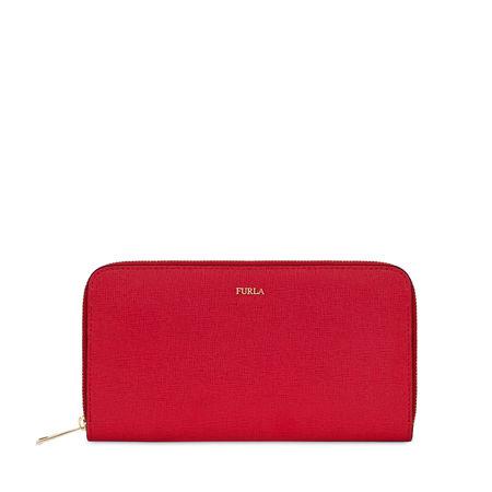 Furla  BABYLON zip-around-portemonnaie ruby rot