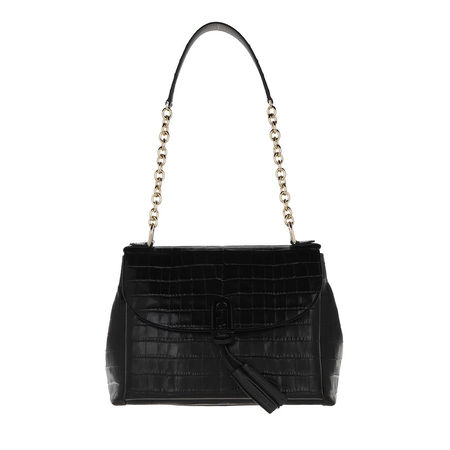 Furla  Crossbody Bags - 1927 Tassel Large Shoulder Bag - in schwarz - für Damen schwarz