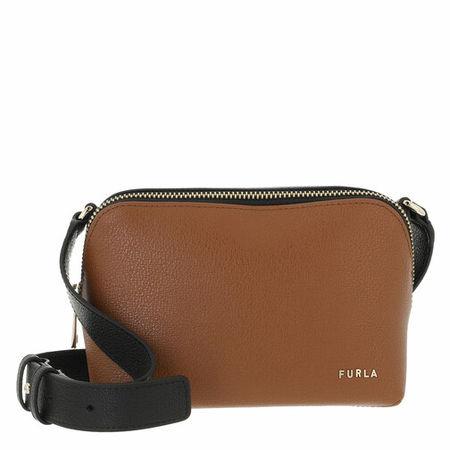 Furla  Crossbody Bags -  Amica Mini Camera Case - in cognac - für Damen