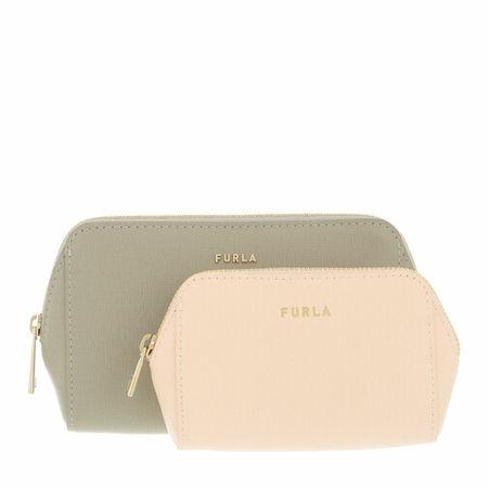 Furla  Kosmetiktaschen - Electra M Cosmetic Case Set - in fawn - für Damen