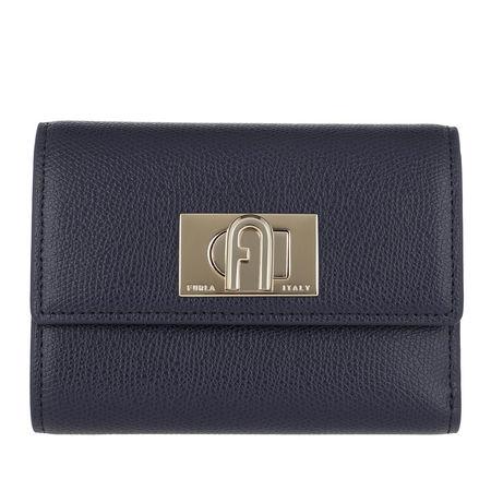 Furla  Portemonnaie  -  1927 Bi-Fold Oceano  - in blau  -  Portemonnaie für Damen grau