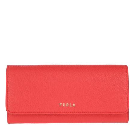 Furla  Portemonnaie  -  Next Xl Bi-Fold Fuoco  - in rot  -  Portemonnaie für Damen rot