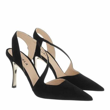Furla  Pumps & High Heels -  Code Slingback T.90 - in schwarz - für Damen schwarz