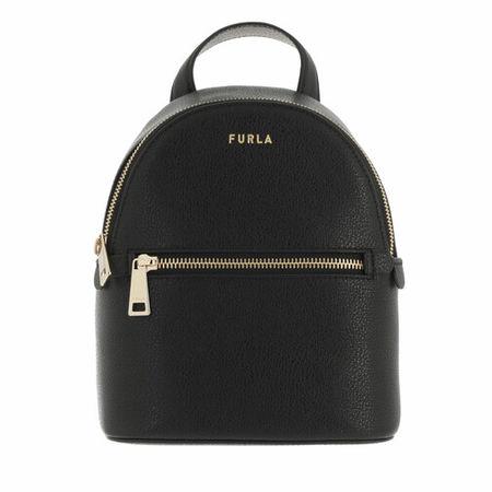 Furla  Rucksack -  Libera Mini Backpack - in black - für Damen