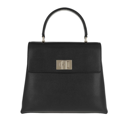Furla  Satchel Bag  -  1927 Medium Top Handle Nero  - in schwarz  -  Satchel Bag für Damen schwarz