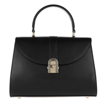 Furla  Satchel Bag  -  1927 Opera Medium Top Handle Nero  - in schwarz  -  Satchel Bag für Damen schwarz
