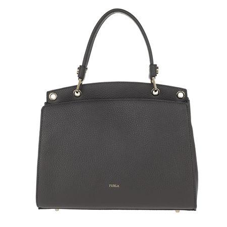 Furla  Satchel Bag  -  Adele M Top Handle Bag Asfalto  - in grau  -  Satchel Bag für Damen grau