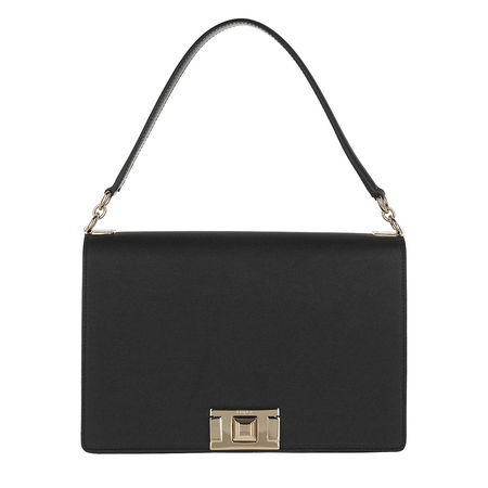 Furla  Satchel Bag  -  Mimi' M Shoulder Bag Onyx  - in schwarz  -  Satchel Bag für Damen grau