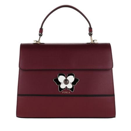 Furla  Satchel Bag  -  Mughetto M Top Handle Bag Ribes  - in rot  -  Satchel Bag für Damen braun