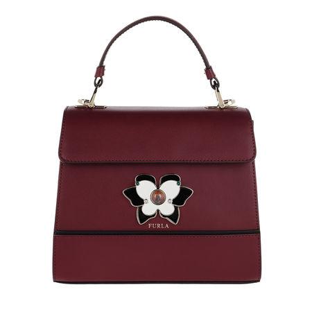 Furla  Satchel Bag  -  Mughetto S Top Handle Bag Ribes  - in rot  -  Satchel Bag für Damen braun