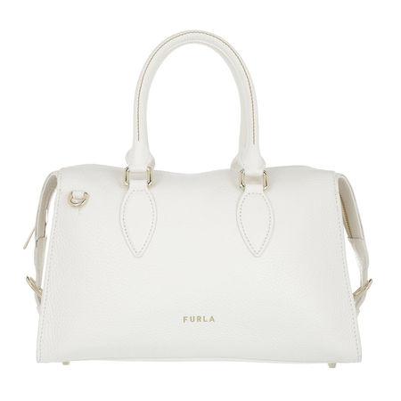 Furla  Satchel Bag - Zone M Satchel - in weiß - für Damen braun