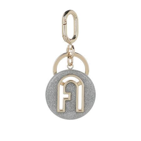 Furla  Schlüsselanhänger - 1927 Keyring - in silber - für Damen grau