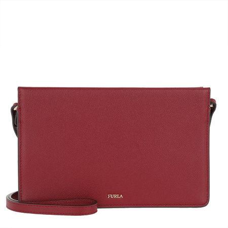 Furla  Umhängetasche  -  Babylon Xl Crossbody Bag Ciliegia  - in rot  -  Umhängetasche für Damen pink