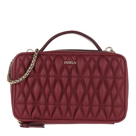 Furla  Umhängetasche  -  Cometa M Crossbody Bag Ciliegia  - in rot  -  Umhängetasche für Damen braun