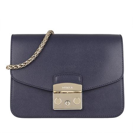 Furla  Umhängetasche  -  Metropolis S Crossbody Bag Blue Notte  - in lila  -  Umhängetasche für Damen grau