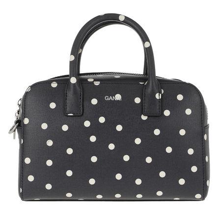 Ganni  Bowling Bag - Top Handle Bag - in light blue - für Damen grau