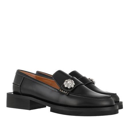 Ganni  Loafers & Ballerinas - Moccasin - in black - für Damen schwarz