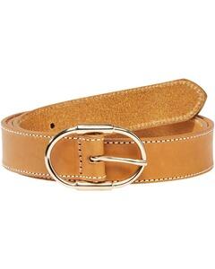 Gant Gürtel mit Kontrastnaht orange