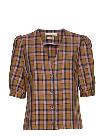 Odd Molly Fearless Jacket Outerwear Jackets Wool Jackets Bunt/gemustert  braun