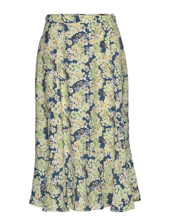 Day Birger et Mikkelsen Day Trillium Kleid Knielang Bunt/gemustert  braun