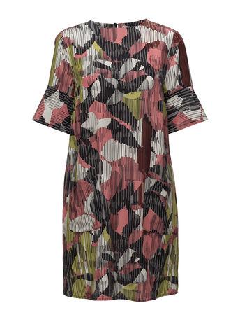 Day Birger et Mikkelsen Day Brand New Kleid Knielang Bunt/gemustert  grau