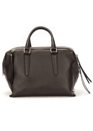 Gianni Chiarini Große Henkel-Tasche in Schwarz grau
