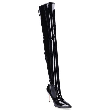 Gianvito Rossi  Stiefel IMOGEN  Lackleder schwarz schwarz