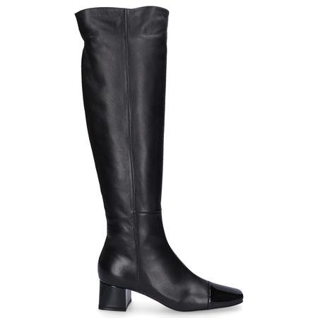Gianvito Rossi  Stiefel WATTS Lackleder Nappaleder schwarz grau