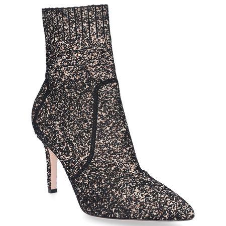Gianvito Rossi Stiefeletten FIONA BOOTIE  Textil beige braun schwarz grau