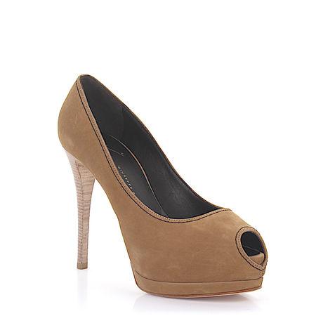 Giuseppe Zanotti  High Heel Peeptoes braun
