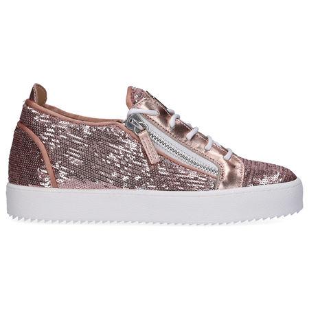 Giuseppe Zanotti Sneaker low MAY LOND  Pailletten altrosa grau