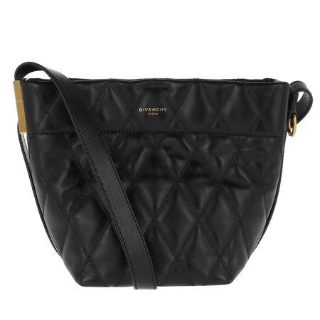 Givenchy  Beuteltasche  -  Mini GV Bucket Bag Quilted Leather Black  - in schwarz  -  Beuteltasche für Damen schwarz