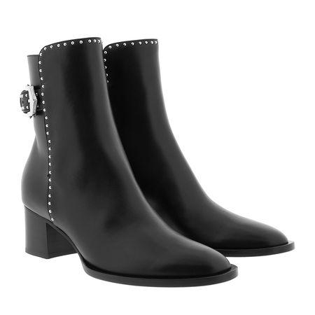 Givenchy  Boots  -  Elegant Ankle Boots Leather Black  - in schwarz  -  Boots für Damen schwarz