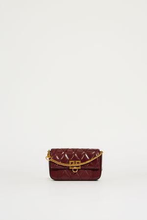 Givenchy  - Gürteltasche 'Pocket Mini' Aubergine grau