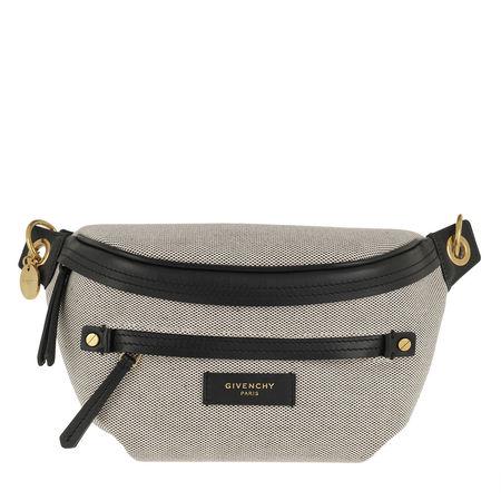 Givenchy  Gürteltasche  -  Whip Belt Bag Canvas Black  - in beige  -  Gürteltasche für Damen braun