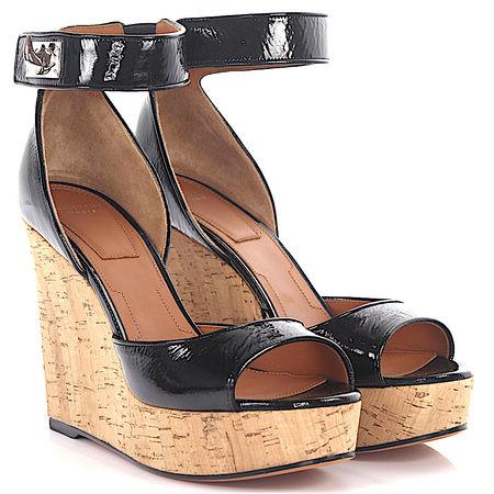 Givenchy Sandalen schwarz beige braun