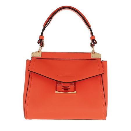 Givenchy  Satchel Bag  -  Small Mystic Bag Soft Leather Orange  - in orange  -  Satchel Bag für Damen rot