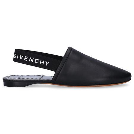 Givenchy Slipper RIVINGTON Nappaleder Logo schwarz schwarz
