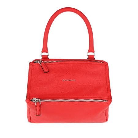 Givenchy  Umhängetasche  -  Pandora Small Bag Goat Red  - in rot  -  Umhängetasche für Damen rot
