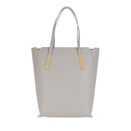 Maison Héroïne  Shopper  -  Marta Shoulder Bag Grey/Gold  - in grau  -  Shopper für Damen braun