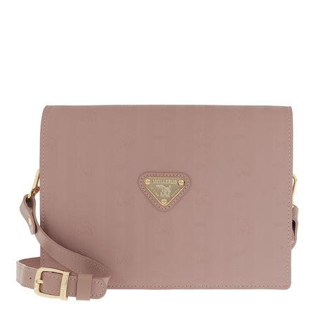 Maison Mollerus  Satchel Bag  -  Wil Crossbody Bag Rose/Gold  - in rosa  -  Satchel Bag für Damen braun