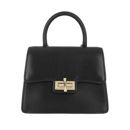 DKNY  Satchel Bag  -  Jojo Mini Satchel Bag Black/Gold  - in schwarz  -  Satchel Bag für Damen schwarz