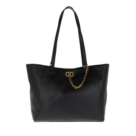 DKNY  Tote  -  Linton Brushed Tote Bag Black/Gold  - in schwarz  -  Tote für Damen schwarz