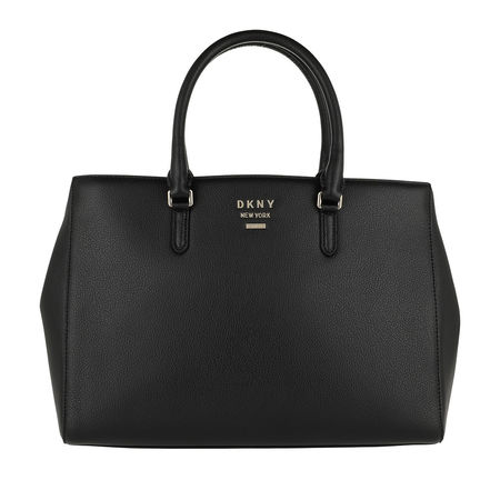 DKNY  Tote  -  Whitney Work Tote Black/Gold  - in schwarz  -  Tote für Damen schwarz
