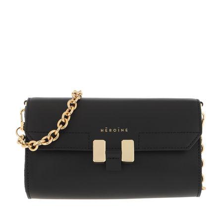 DKNY  Umhängetasche  -  Smoke Convertible Clutch Black/Gold  - in schwarz  -  Umhängetasche für Damen schwarz
