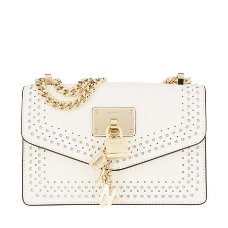 DKNY  Umhängetasche - Elissa Shoulder Bag White/Gold - in weiß - für Damen