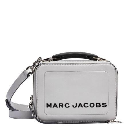 Marc Jacobs ® - Handtasche aus Leder in Hellgrau/Grau für Damen, Größe UNI braun