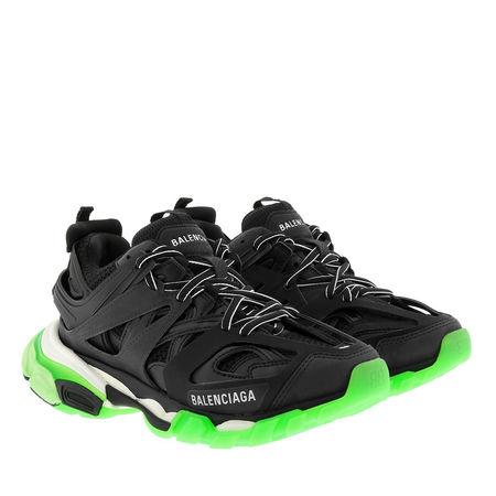 Balenciaga  Sneakers  -  Sneakers Track Glow Black/Green  - in schwarz  -  Sneakers für Damen schwarz