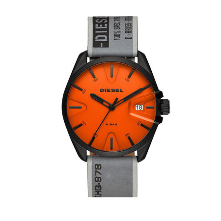 Diesel  Uhr - MS9 Men Watch  Black/GreySilver - in orange - für Damen orange