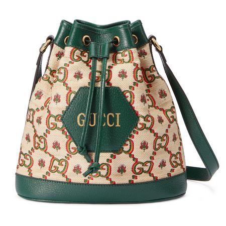 Gucci  100 Ophidia Mini-Bucket Bag